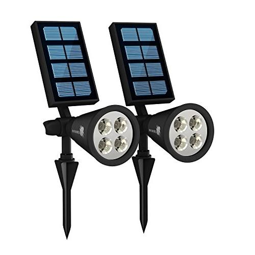 waterproof solar garden lights