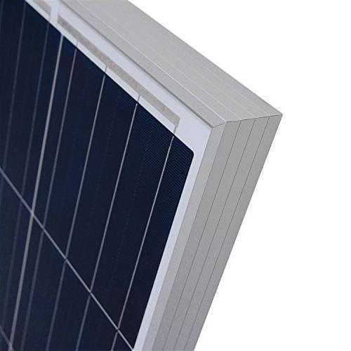 Renogy 270 Volt for Off-Grid On-Grid Large System, House Cabin Sheds Solar