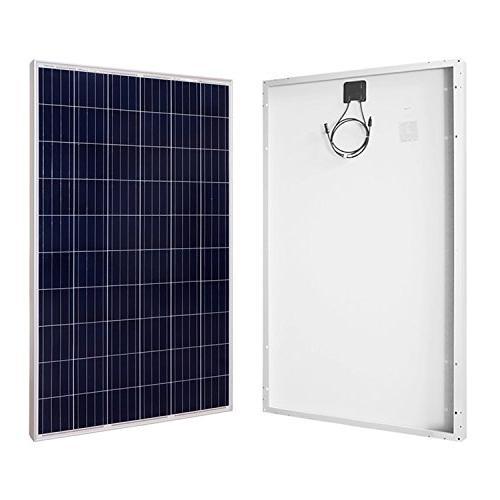 watt polycrystalline black solar panel