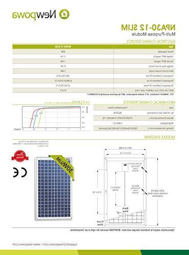 Newpowa Solar 10A 12v Smart Controller