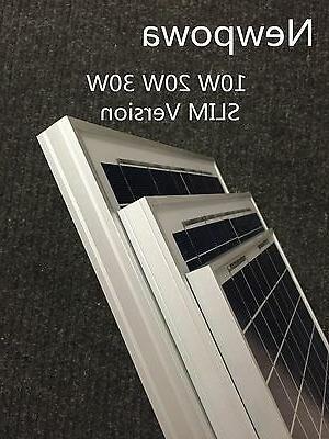 NewPowa High 20W Watt 12V Solar Grid Boat