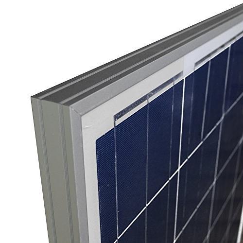 Newpowa Watts Volts Panel 100W High Efficiency Module Marine Off