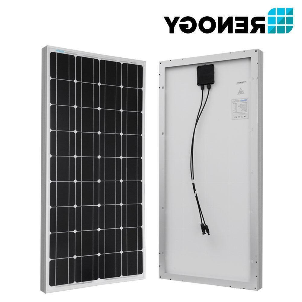 Renogy Solar Panel Bundle Kit Z Bracket Y