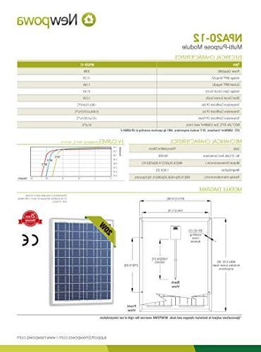 Newpowa Poly Solar Rv