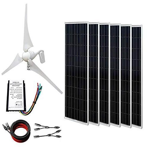 wind solar power 12v 24v