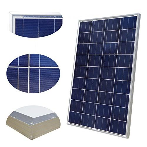 ECO-WORTHY Solar 12V/24V 400W Turbine + 6pcs Polycrystalline Solar Panel + 16ft Solar Adapter