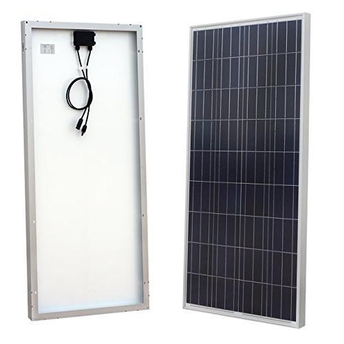 ECO-WORTHY 24 Volts Power: 400W Generator Polycrystalline Solar 1500W 24V-110V Off Inverter Cable