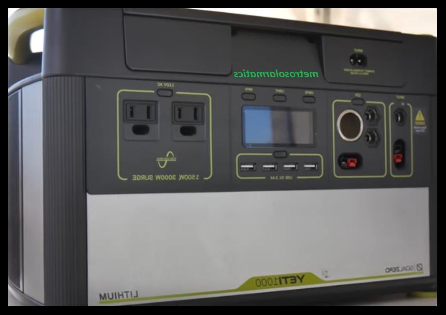 Goal Yeti Lithium Power #GZ38004