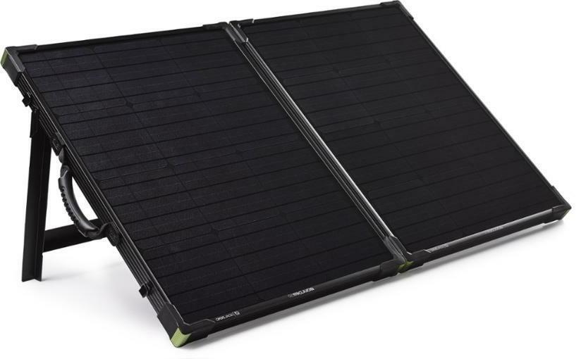 Goal Solar Generator w/Boulder 100 Watt Panel Handle