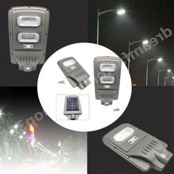 light radar sensor lamp abs solar panels
