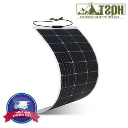 100 Watt 100W 12V 12 Volt Lightweight Solar Panel RV Boat/Sa