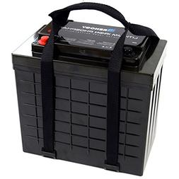 Renogy Lithium-Iron Phosphate Battery 12 Volt 100Ah for RV,