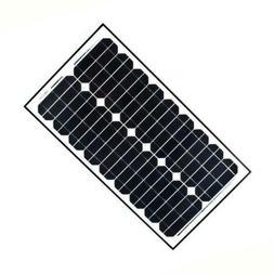 ALEKO SP20W24V 20 Watt 24 Volt Monocrystalline Solar Panel f