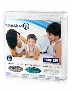 Full Mattress Protector, Waterproof, Breathable, Blocks Dust