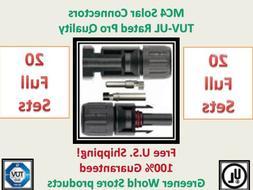 Mc4 Solar Connectors for Photovoltaic Solar Panels Mc4 Solar