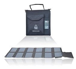 MEGASOLAR 120W Solar Charger 120W Solar Panel with Solar Con
