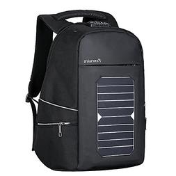 Eshow Solar Charger Laptop Backpack with USB Charging Port A