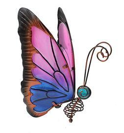 Home & Garden Metal Butterfly Solar Light