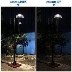 KANSTAR MF2030 Solar Power Motion Street Vintage Lamp Post L