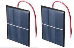 AMX3d 2 x 1.5V 400mA 80x60mm Micro Mini Power Solar Cells Fo