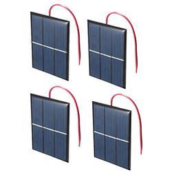 Set of 4 Pieces NUZAMAS 1.5V 0.65W 60X80mm Micro Mini Solar