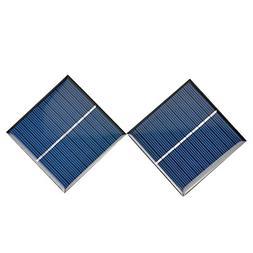 AOSHIKE 2Pcs Micro Solar Panels Polycrystalline Silicon Flex