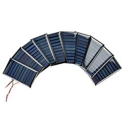 AOSHIKE 10Pcs 5V 30mA Micro Solar Panels for Solar Power Min