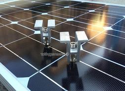 Mid Clamp brackets for Solar Panel Mounting Rack Rail SolarR
