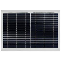 Mighty Max 10 Watt Polycrystalline Solar Panel Charger for D