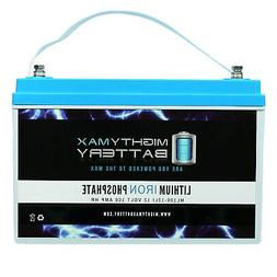 Mighty Max 12V 100AH Lithium Replacement Battery for Renogy