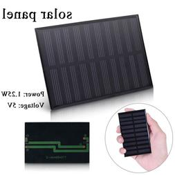5 V Mini Solar Panel System For DIY Battery Cell Phone Charg