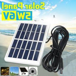 Mini 5W 6V Solar Panel Battery Charger Sunpower Energy Class