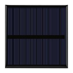 Yosooo 0.7W 5V Mini Portable Polysilicon Solar Cell Panel DI