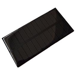 2Pcs 1W 6V 125x63x3mm Mini Power Monocrystalline Solar Cell