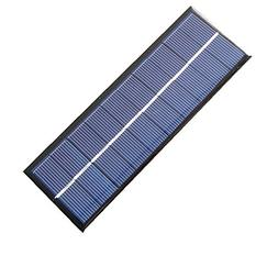 1.3W 5V 163x60x3mm Mini Power Polycrystalline Solar Cell Pan