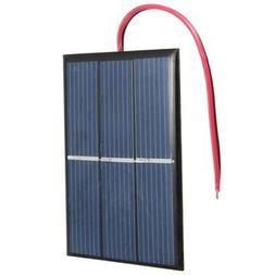 Mini Solar Panel - Solar Panel Wire - 0.65W 1.5V 0-300mA Min