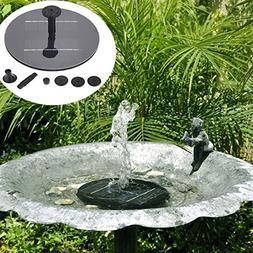 8V 1.4W Mini Solar Panel Brushless Water Pump Garden Floatin