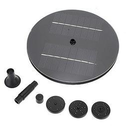HUANGYABO Mini Solar Panel Brushless Water Pump 8V 1.4W Gard