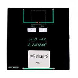 Maelu 1pc 3w 12v 250ma Mini Solar Panel Module Solar System