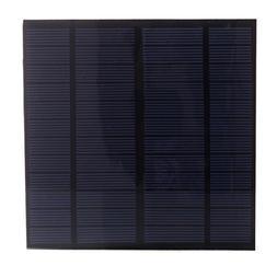 NUZAMAS 3W 12V 250ma Mini Solar Panel Module Solar System Ce