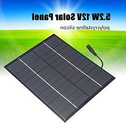 TOOGOO 12V 5.2W Mini Solar Panel Polycrystalline Solar Cells