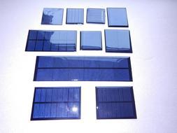 MINI SOLAR PANELS  multiple choice listing, 1v,2v,3v,4v size