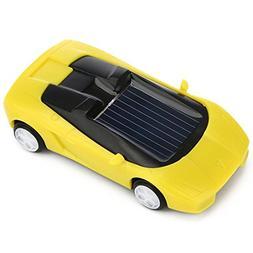 Enjocho Mini Solar Powered Car Racer Toy DIY Car Kit Childre