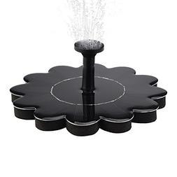 GARDEN GREATHOUSE New model, Solar Fountain, Solar Powered F