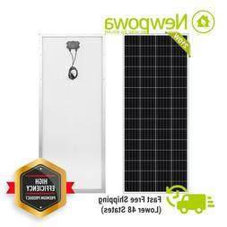 Newpowa moncrystalline 175 Watt 175W 12V Solar Panel Mono Mo