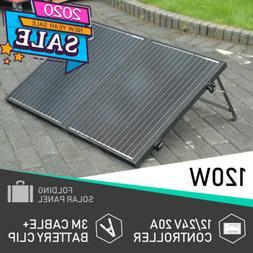 ef6b3682f23c 50W 100W 120W Portable Folding Solar Pan...