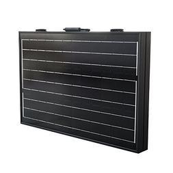 ECO LLC 100W Mono Folding Foldable Solar Panel Complete Kit