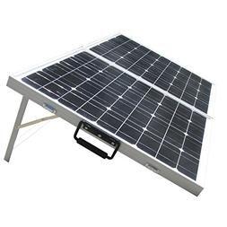 ECO-WORTHY 100W 12V Mono Portable Foldable Solar Panel Kit
