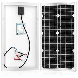 ACOPOWER Mono Solar Panel for 12 Volt Battery Charging, Off