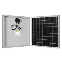 Powereco 50 Watt 50W Mono Solar Panel for 12 Volt Battery Ch